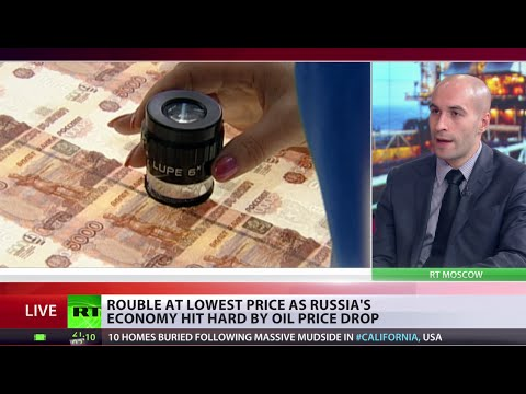 Double barrel: Ruble plunges to 5-year low