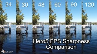 Hero5 Black - 1080p 24-120 FPS Quality Sharpness Comparison - GoPro Tip #546 | MicBergsma