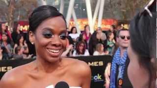 Karan Kendrick (Atala) - The Hunger Games Premiere Interview