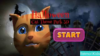 HALLOWEEN SPECIAL FOR KIDS   Halloween Cat Theme Park 3D -  Let's play with me! #HALLOWEENFORKIDS