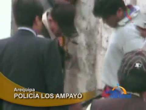 Arequipa: Capturan a integrantes de banda de robacasas en Alto Selva Alegre