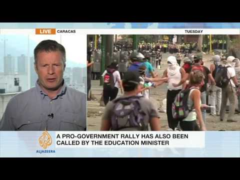 Al Jazeera's Andy Gallagher on Venezuela protests