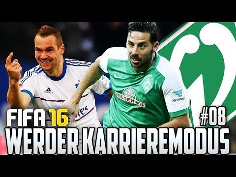 FIFA 16 KARRIEREMODUS #08 - COMEBACK ZUM DERBY GEGEN DEN HSV - FIFA 16 Karriere Werder Bremen