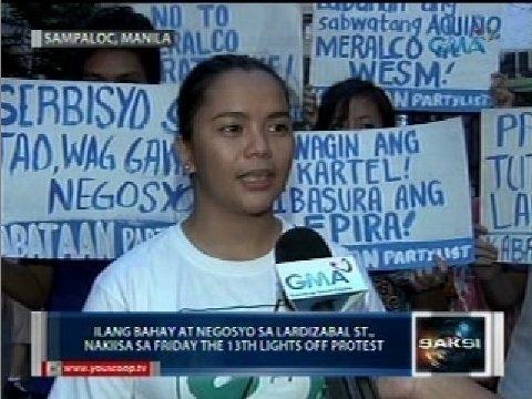 Lights off protest, ikinasa kahit simula na ng inutay-utay na dagdag-singil ng Meralco