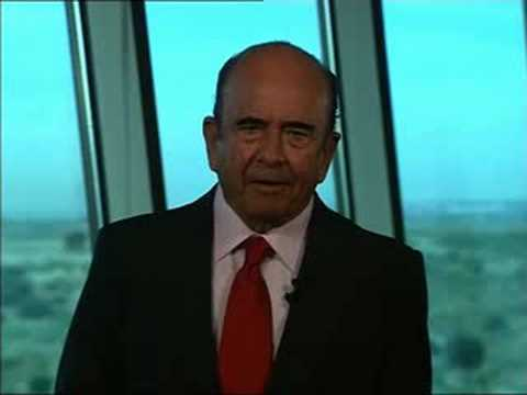 Thumbnail of video Emilio Botín hablando inglés