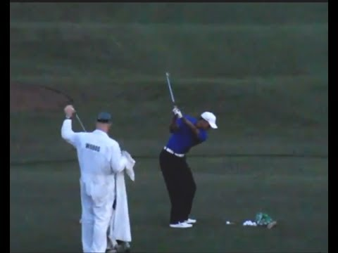 Tiger Woods, Adam Scott & Others w Slow Motion - Masters Practice Rounds 2012 Pt1