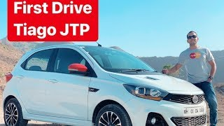 Tata Tiago JTP First Drive Review (Hot Hatchback) - Hindi + English