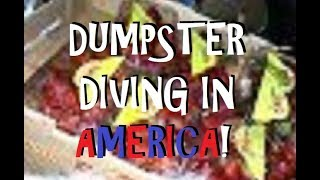 SOLO NIGHTTIME DUMPSTER DIVE ~ TONS OF EDIBLE FOOD TOSSED IN THE TRASH ~ DUMPSTER DIVING IN AMERICA