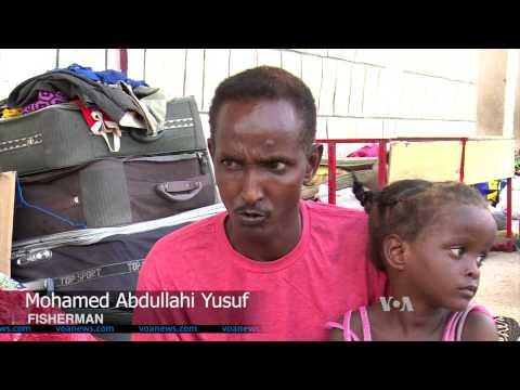Somali Refugees Sail Home From Yemen