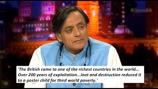 Shashi Tharoor argues why British Rule destroyed India, North Korea & Liberalism