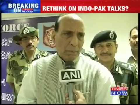 If Pakistan wants, talks can be held: Home Minister Rajnath Singh