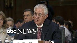 download Former Exxon CEO Rex Tillerson Grilled About Russian Foreign Policy at Confirmation Hearings Video