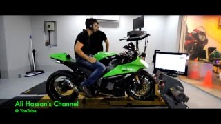 2014 KAWASAKI ZX10R With AUSTIN RACING Exhaust