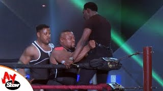 MR IBU, SAKA, AY, MR PERFECT, ULTIMATER COMANDER, TEE MAC IN A WRESTLING MATCH