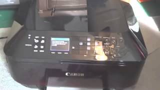 Canon PIXMA MX922 Unboxing And Setup in Depth 1080p HD YouTube