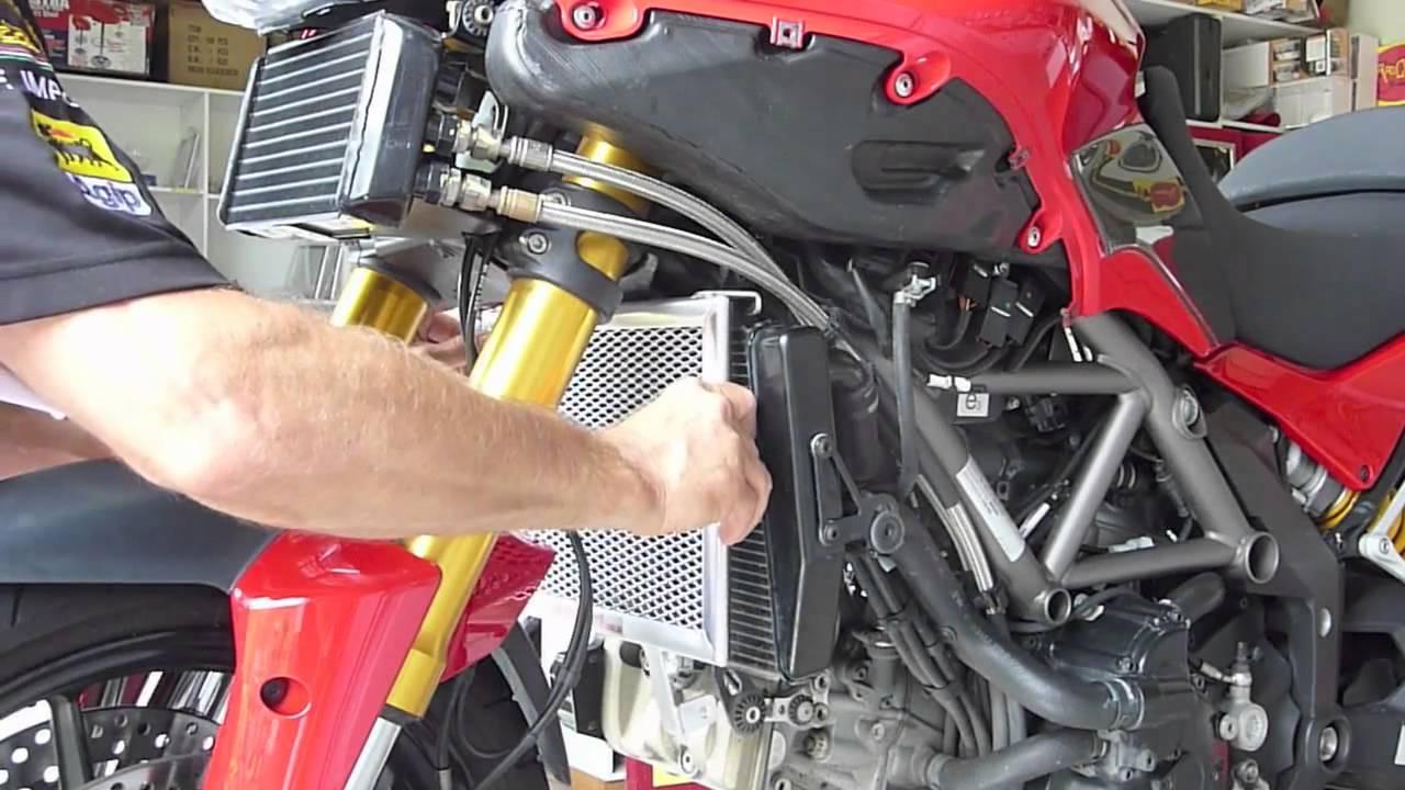 Ducati  Radiator Guard