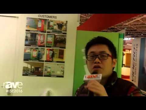 ISE 2016: Hanshin Vending Displays Various Kiosk Solutions and Innovative Vending Machines