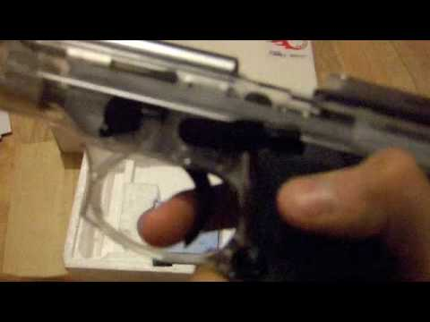 LS M9 Airsoft Gas Blowback Video