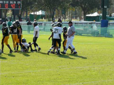 Capital city steelers at 2008 Disney Pop warner Championship Video