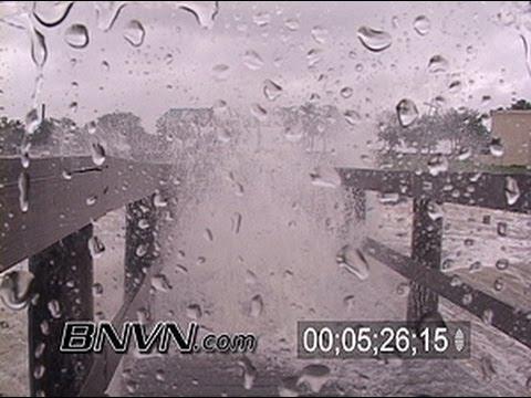 7/10/2005 Hurricane Dennis Video From Gulf Breeze Florida