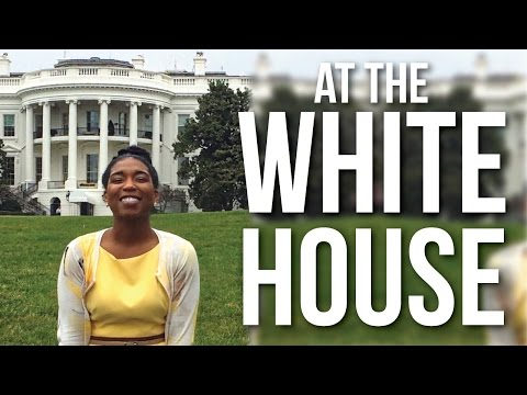 STUNNED at THE WHITE HOUSE!! March 12-15, 2016 | Naptural85 Vlog