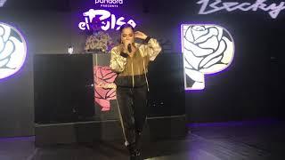 Becky G Cuando Te Bese Pandora Live
