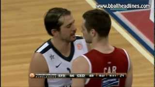 Kerem Tunceri and Marko Car going at it