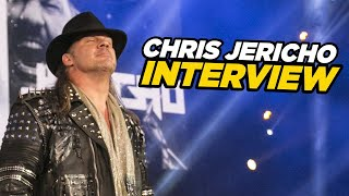 Chris Jericho Talks AEW, Jericho Cruise, Mount Rushmore Of Wrestling & More