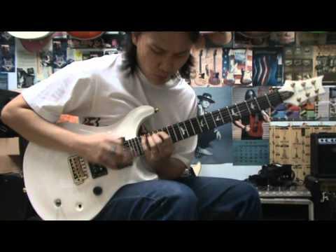 Shredding Guitar On John Norum - Face the truth Intro Just Improvisation