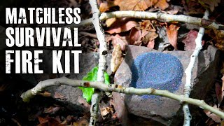 "Make a ""Matchless"" Survival Fire Kit"