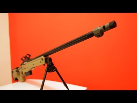 ARES AW 338 Sniper Rifle Review (HD) - Redwolf Airsoft - RWTV