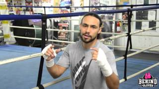 Thurman discusses break down in Brook/Khan talks and the tougher opponent, Canelo or Brook?