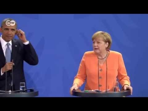 German Chancellor Angela Merkel - joint press conference with US President Barack Obama | Journal