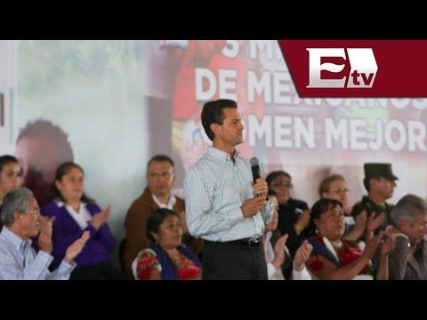 El presidente Peña Nieto inauguró obras de infraestructura en Durango / Excélsior Informa