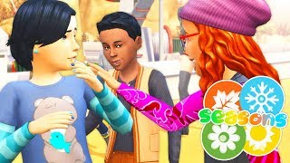 PAISLEY IS MAKING NEW FRIENDS🤗💕 // THE SIMS 4 | SEASONS #23