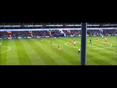 Soldado Goal Tottenham vs Cardiff City 1-0 02.03.2014