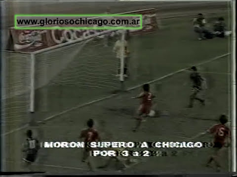 Chicago 2 - Morón 3 1990 Final con incidentes