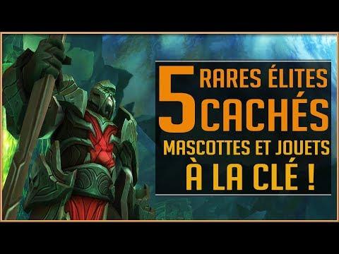 World Of Warcraft - Les 5 Rares Élites Cachés d'Argus / Nouveaux Jouets et Mascottes !