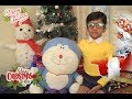Christmas Holidays   Santa Claus Giving Christmas Doraemon/Doremon Gift To Nobita