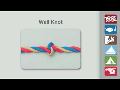 Wall Knot | How to Tie a Wall Knot