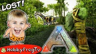 ARK SURVIVAL Dino Escape + Lost In The Jungle W. HobbyPig on HobbyFrogTV