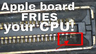 Apple BOTCHES Macbook board design: AGAIN!