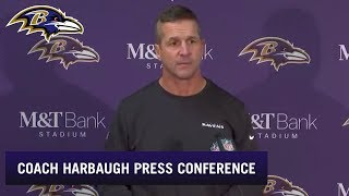 John Harbaugh: It Was a Grit Win | Baltimore Ravens