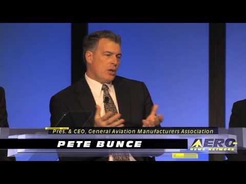 Aero-TV:  The Aero Associations Speak - Pete Bunce on Value of General Aviation