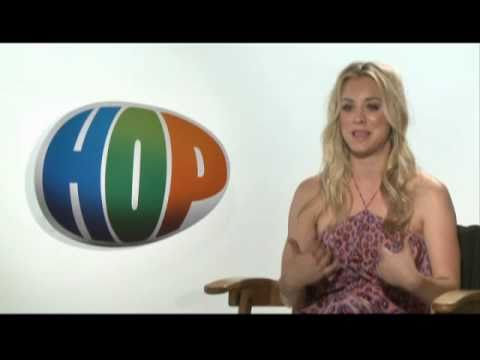 Kaley Cuoco Talks About Hop The Movie To Be Release April 1, 2011