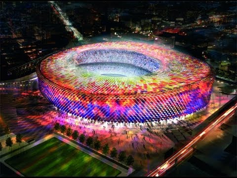 Top 10 Biggest Soccer Stadiums In The World YouTube