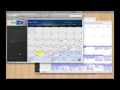 Publishing FileMaker to iCal & Google Calendar