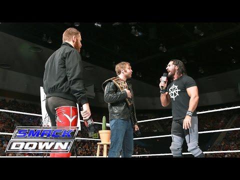 The Ambrose Asylum interrupts Seth Rollins' open challenge: SmackDown, June 23, 2016