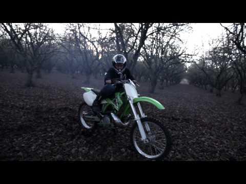 Beginner on a KX 250