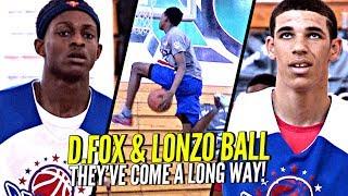 16 Yr Old Lonzo Ball & De